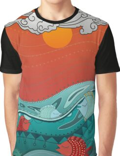 Fish Float Graphic T-Shirt