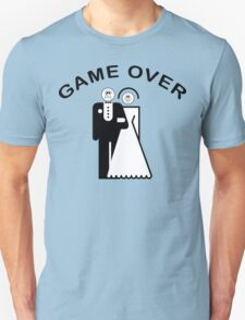 Game Over Getting Married T-Shirt