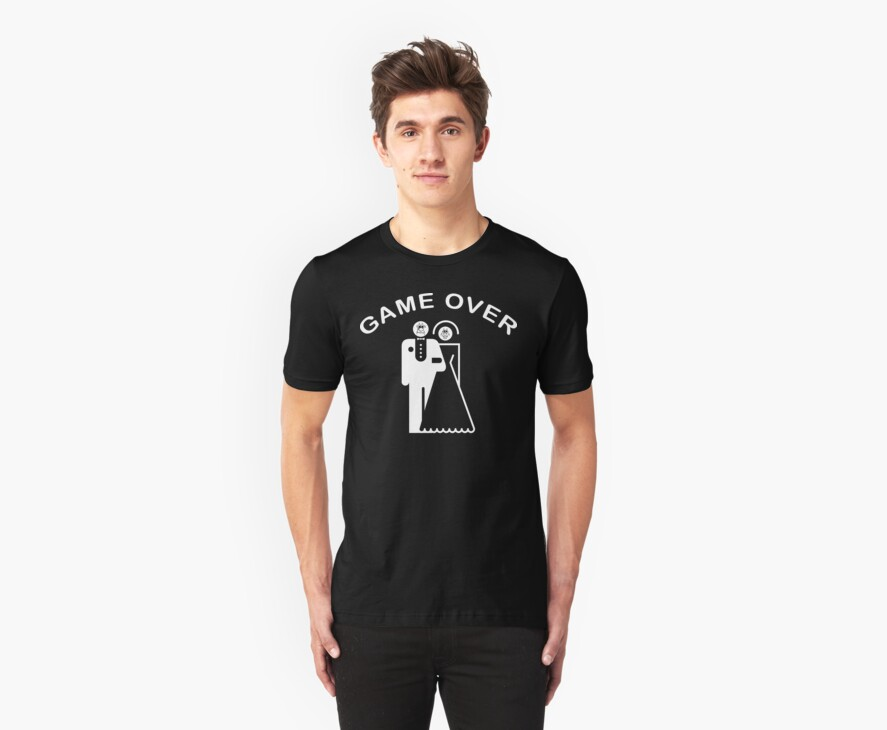 Game Over Getting Married by FamilyT-Shirts