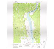 USGS Topo Map Washington State WA Jared 241692 1968 24000 Poster