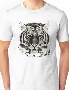 Tiger Face Close-up Unisex T-Shirt