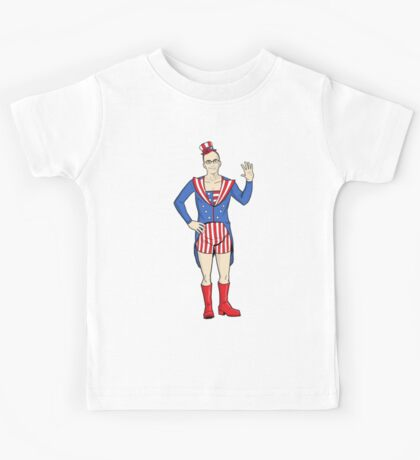 Patriotic Dean Kids Tee