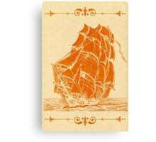 High Sails Canvas Print