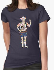 Paintball Dean Womens Fitted T-Shirt