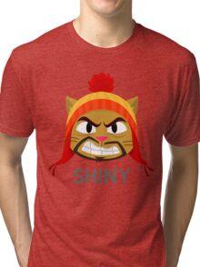 Cheshire POP! - Shiny Tri-blend T-Shirt