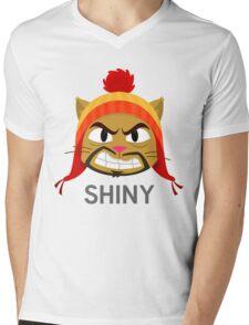 Cheshire POP! - Shiny Mens V-Neck T-Shirt