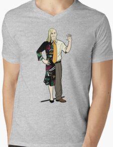 Dualidean Mens V-Neck T-Shirt