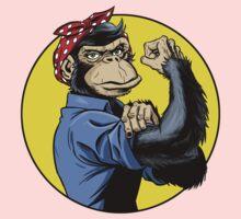 Chimp Power! Kids Clothes