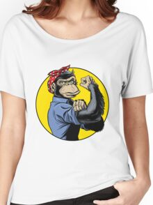 Chimp Power! Women's Relaxed Fit T-Shirt