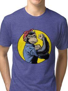 Chimp Power! Tri-blend T-Shirt