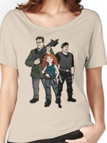 Brave Expendables Women's Relaxed Fit T-Shirt