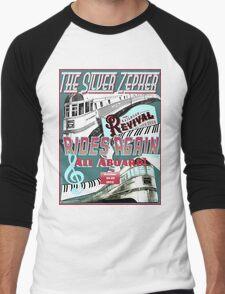 Railroad Revival Challenge Tee-Shirt Design Men's Baseball ¾ T-Shirt