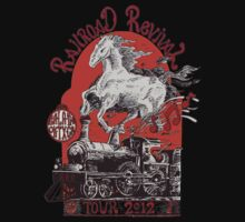 """Iron Horse"" RailRoad Revival Tour 2012 T-shirt by John-Mike"