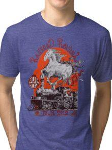 """Iron Horse"" RailRoad Revival Tour 2012 T-shirt Tri-blend T-Shirt"