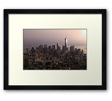 Welcome To NYC Framed Print