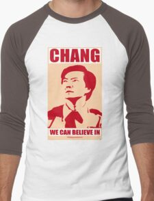 Chang We Can Believe In Men's Baseball ¾ T-Shirt