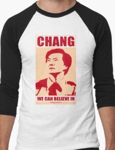 Chang We Can Believe In Men's Baseball ¾ T-Shirt