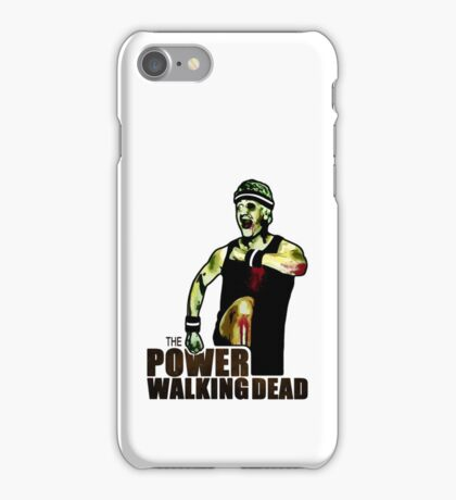 The Power Walking Dead (on White) [ iPad / iPhone / iPod Case | Tshirt | Print ] iPhone Case/Skin