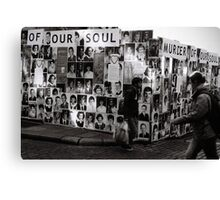 Murder of our souls Canvas Print