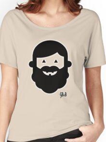 Halloween Beardy Boy - Black Women's Relaxed Fit T-Shirt