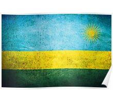 Rwanda - Vintage Poster