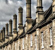Row of houses Sticker