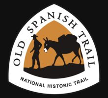 Old Spanish Trail Sign, USA by worldofsigns