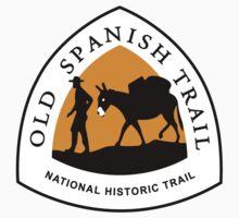 Old Spanish Trail Sign, USA Kids Tee