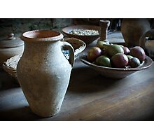 Monks lunch Photographic Print