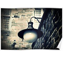 The old wall lamp  Poster