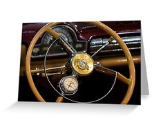 Oldsmobile Car Watch Greeting Card