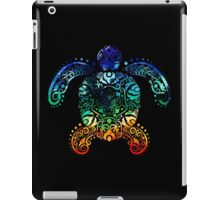 Inked Sea Turtle iPad Case/Skin