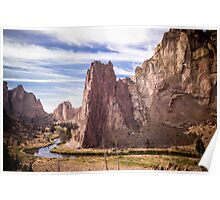 Smith Rock State Park (2 of 3) Poster