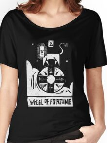 Wheel of Fortune - Tarot Cards - Major Arcana Women's Relaxed Fit T-Shirt