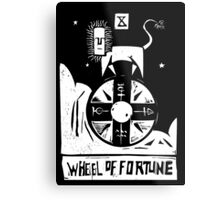 Wheel of Fortune - Tarot Cards - Major Arcana Metal Print
