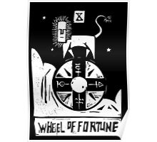 Wheel of Fortune - Tarot Cards - Major Arcana Poster
