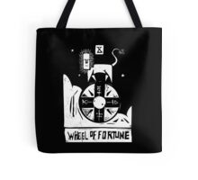 Wheel of Fortune - Tarot Cards - Major Arcana Tote Bag