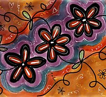 FLOWER FUN 8 by GUADALUPE  DIVINA