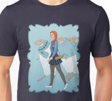 Little Girl Blue Unisex T-Shirt