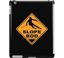 Ski road sign iPad Case/Skin