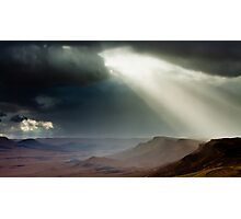 storm in mountains Photographic Print