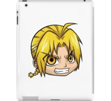 Edward Elric From Fullmetal Alchemist By Chibi-Heado iPad Case/Skin