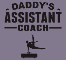 Daddy's Assistant Gymnastics Coach Kids Clothes