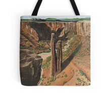 Spider Rock Arizona USA ~ Oil Painting Tote Bag