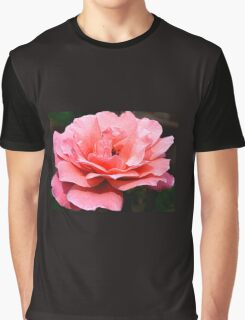 Pink On Black Graphic T-Shirt