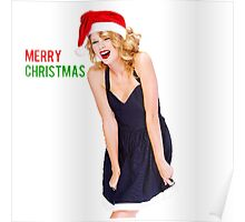 Merry Christmas Taylor Swift Poster