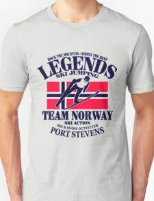 Norway Ski Jumping Unisex T-Shirt