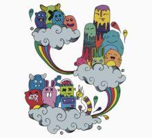 Monster Cloud Ride Kids Clothes