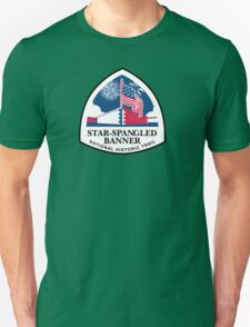 Star-Spangled Banner Trail Sign, USA Unisex T-Shirt