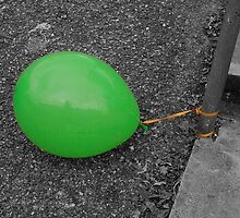 Lonely balloon by Roxy J
